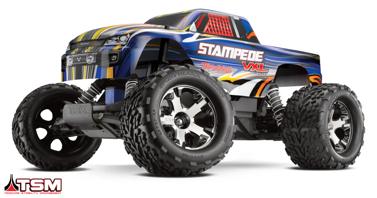 Traxxas Stampede 2WD VXL TQi от Рокет Маркет