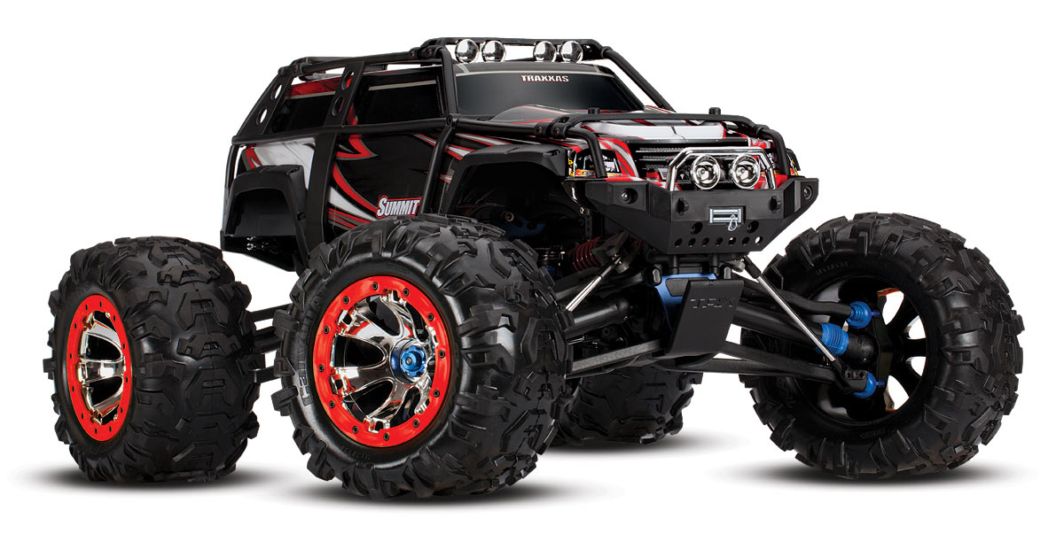 Traxxas Summit 1/10 TQi Ready to Bluetooth от Рокет Маркет