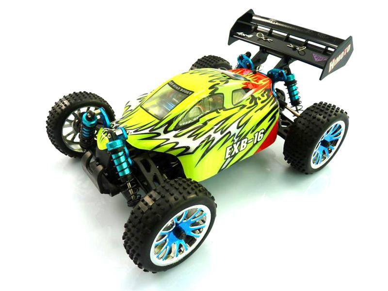 Himoto EXB-16 Brushless от Рокет Маркет